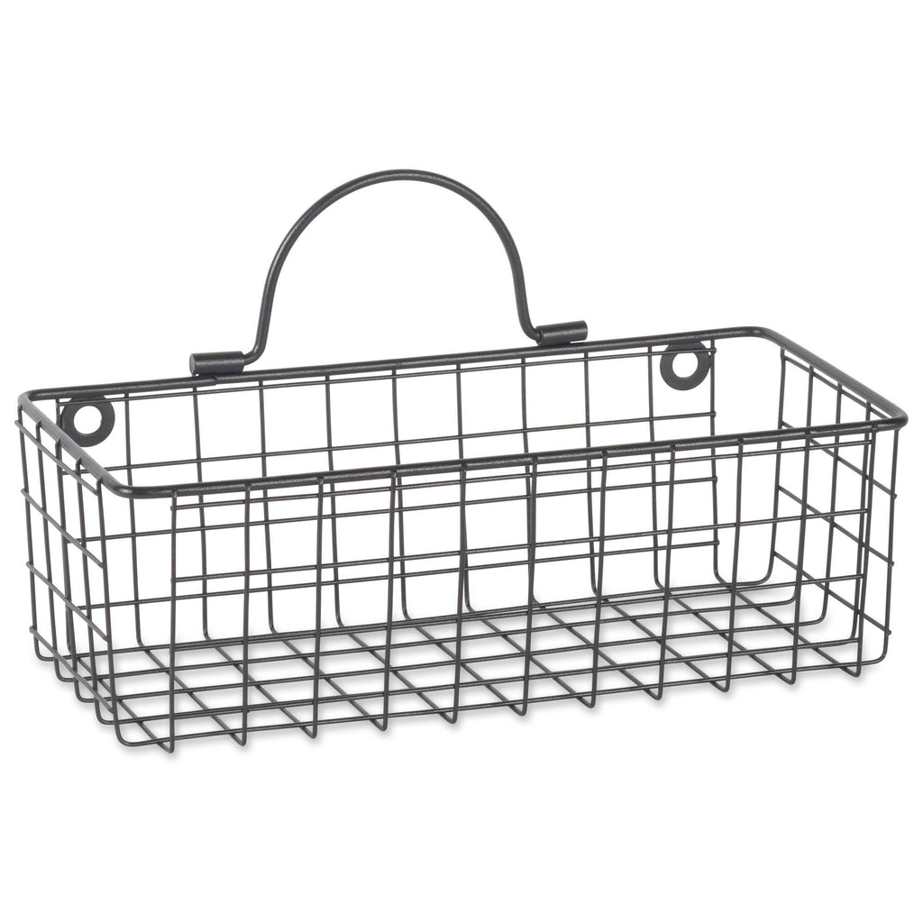 DII Wire Wall Basket(Set of 2) Small Black