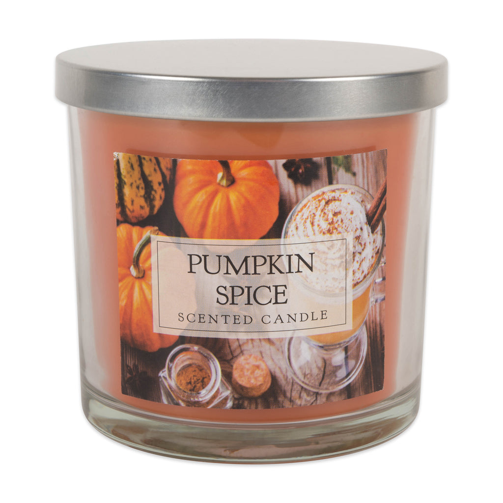 Pumpkin Spice 3 Wick Candle