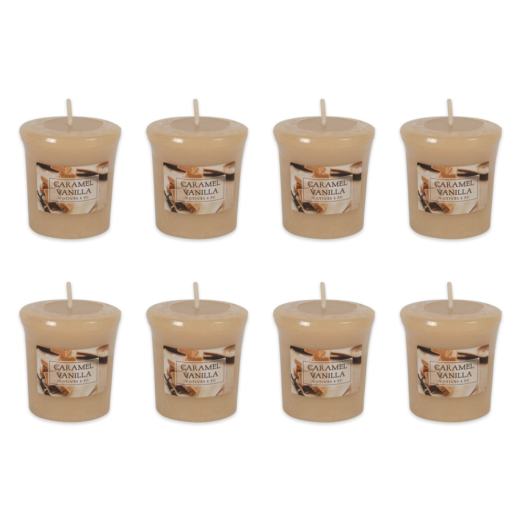 Carmel Vanilla Tealights 8 Pc