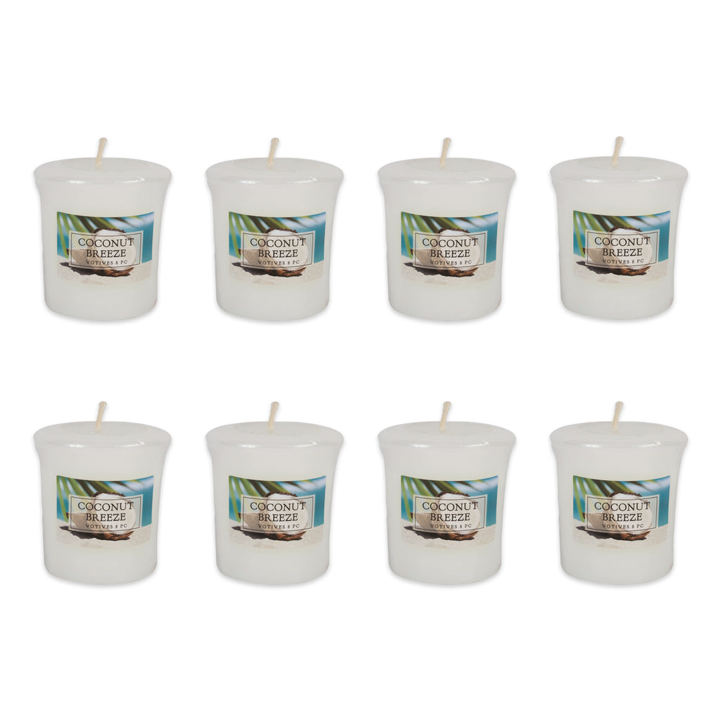 Coconut Breeze Votives 8 Pc