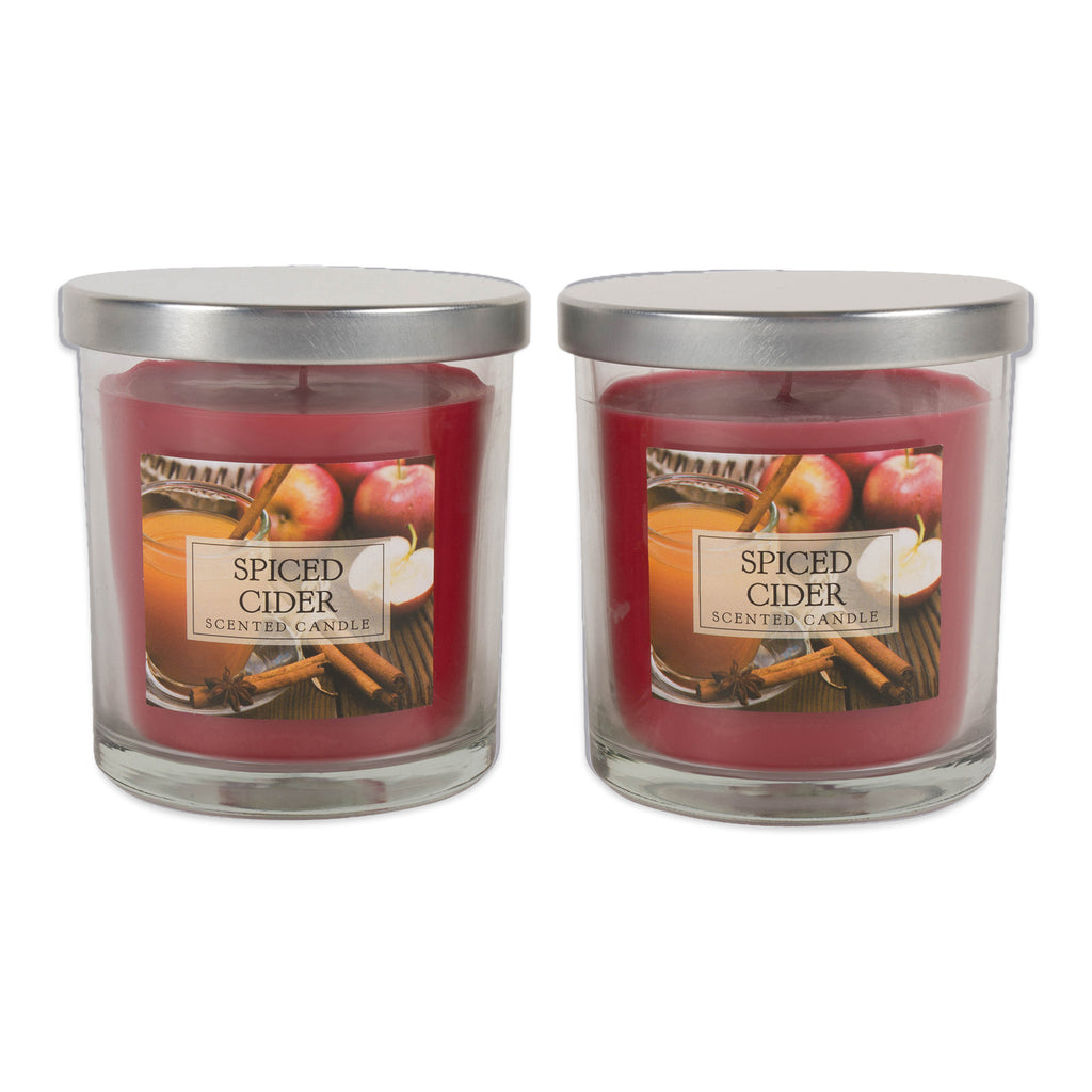 Spiced Cider Single Wick Candle Set/2