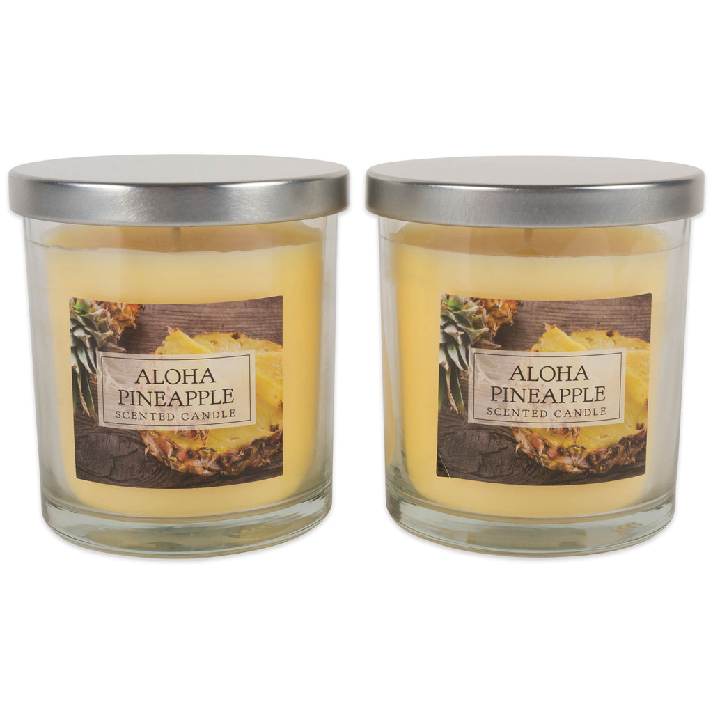 Aloha Pineapple Single Wick Candle Set/2
