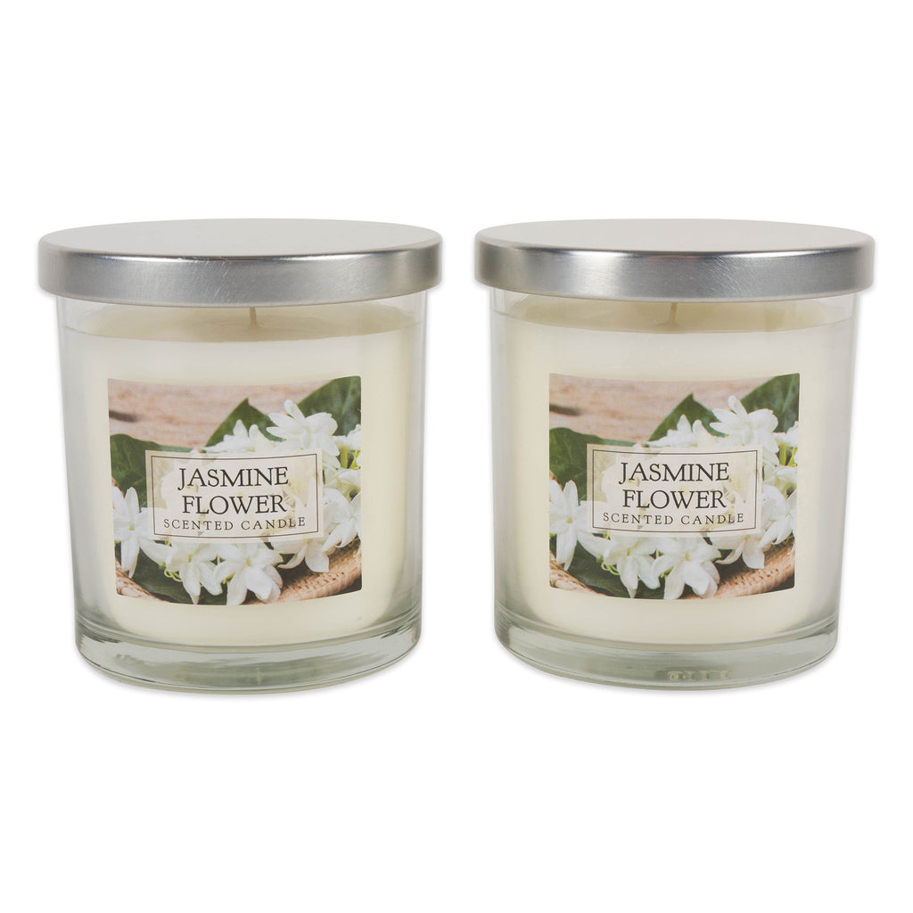 Jasmine Single Wick Candle Set/2