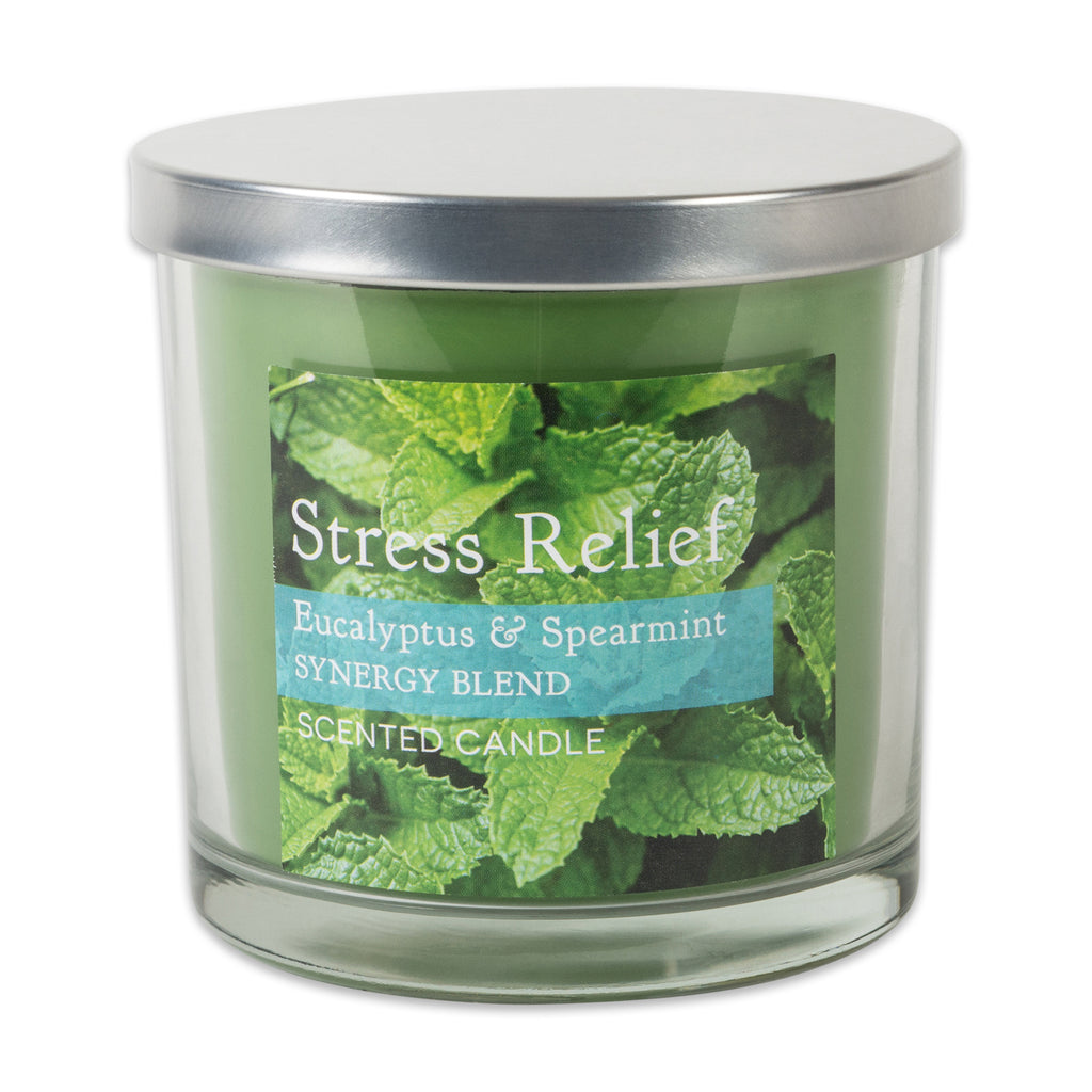 Eucalyptus Spearmint Synergy Blend Single Wick Candle Set/2