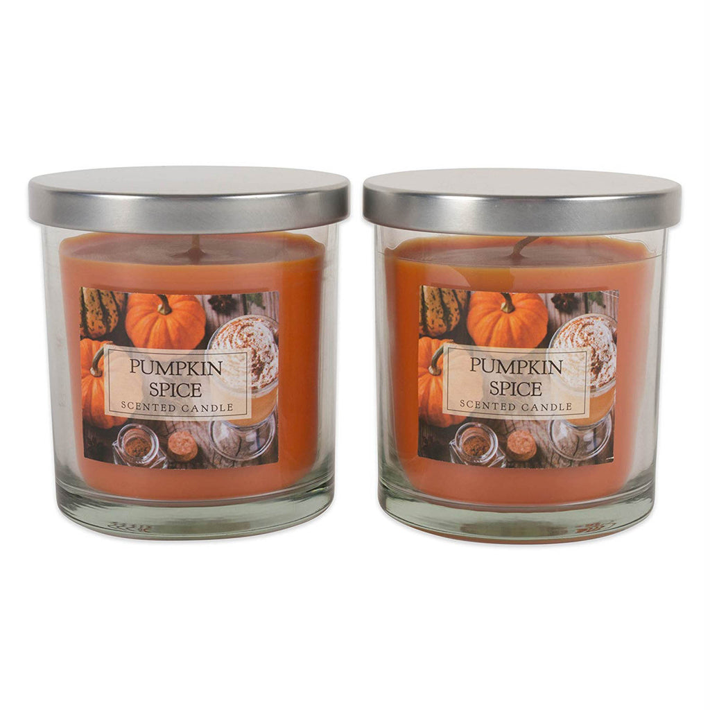 Pumpkin Spice Single Wick Candle Set/2