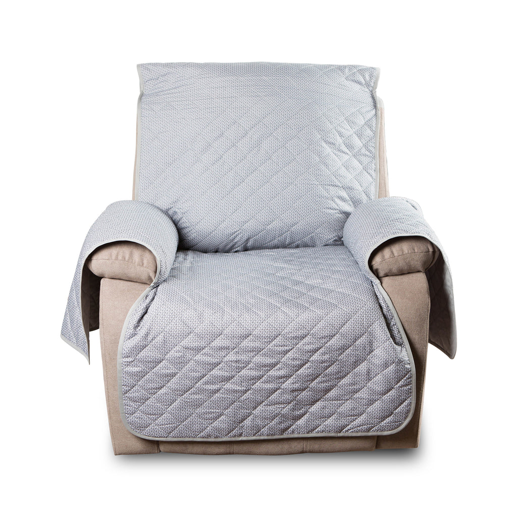 DII Reversible Recliner Cover Grey Multi Print