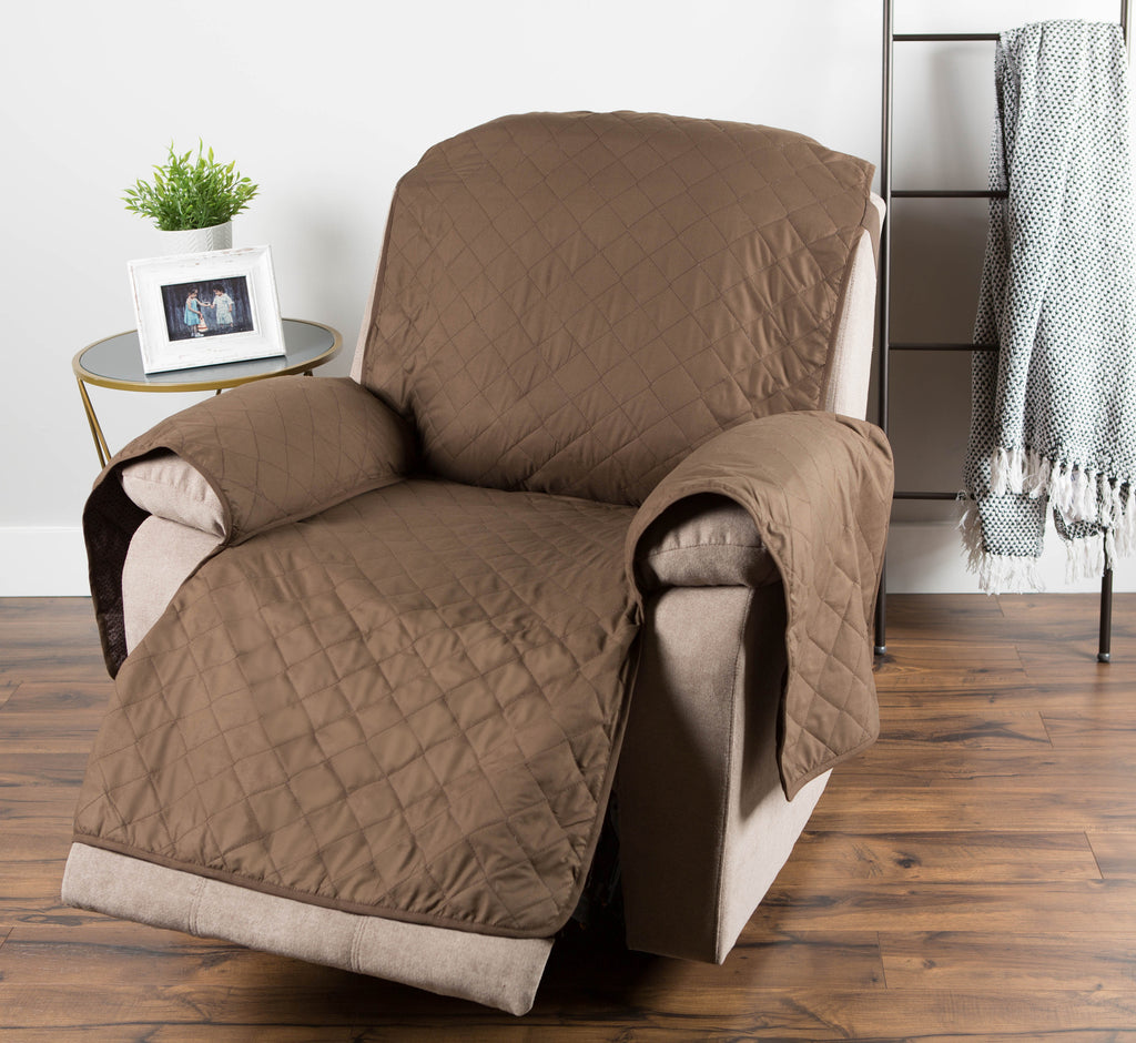 DII Reversible Recliner Cover Chocolate Multi Print