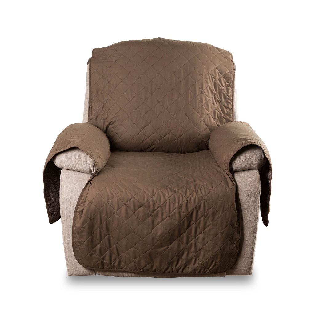 Reversible Recliner Cover Chocolate Multi Print