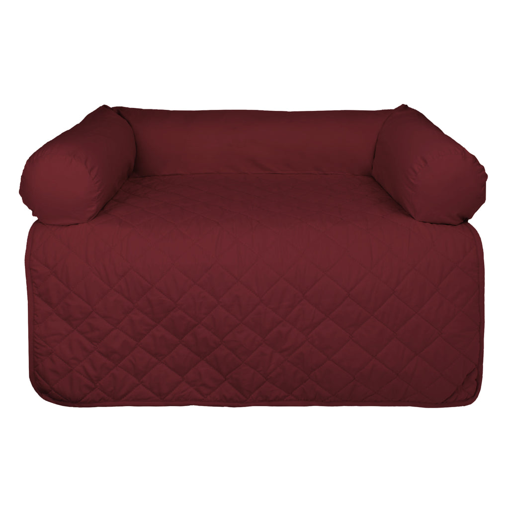 Bolster Pet Furniture Cover Cranberry Large