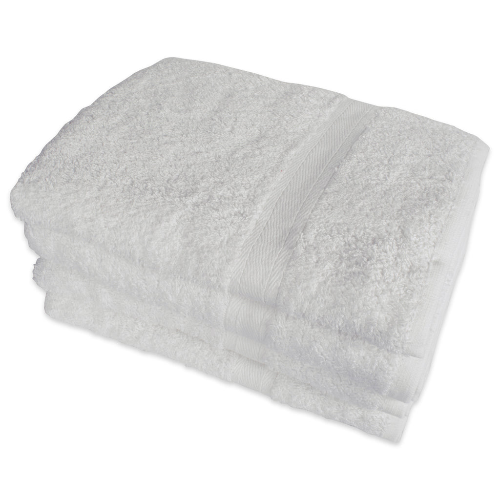 White Hand Towels Set/4