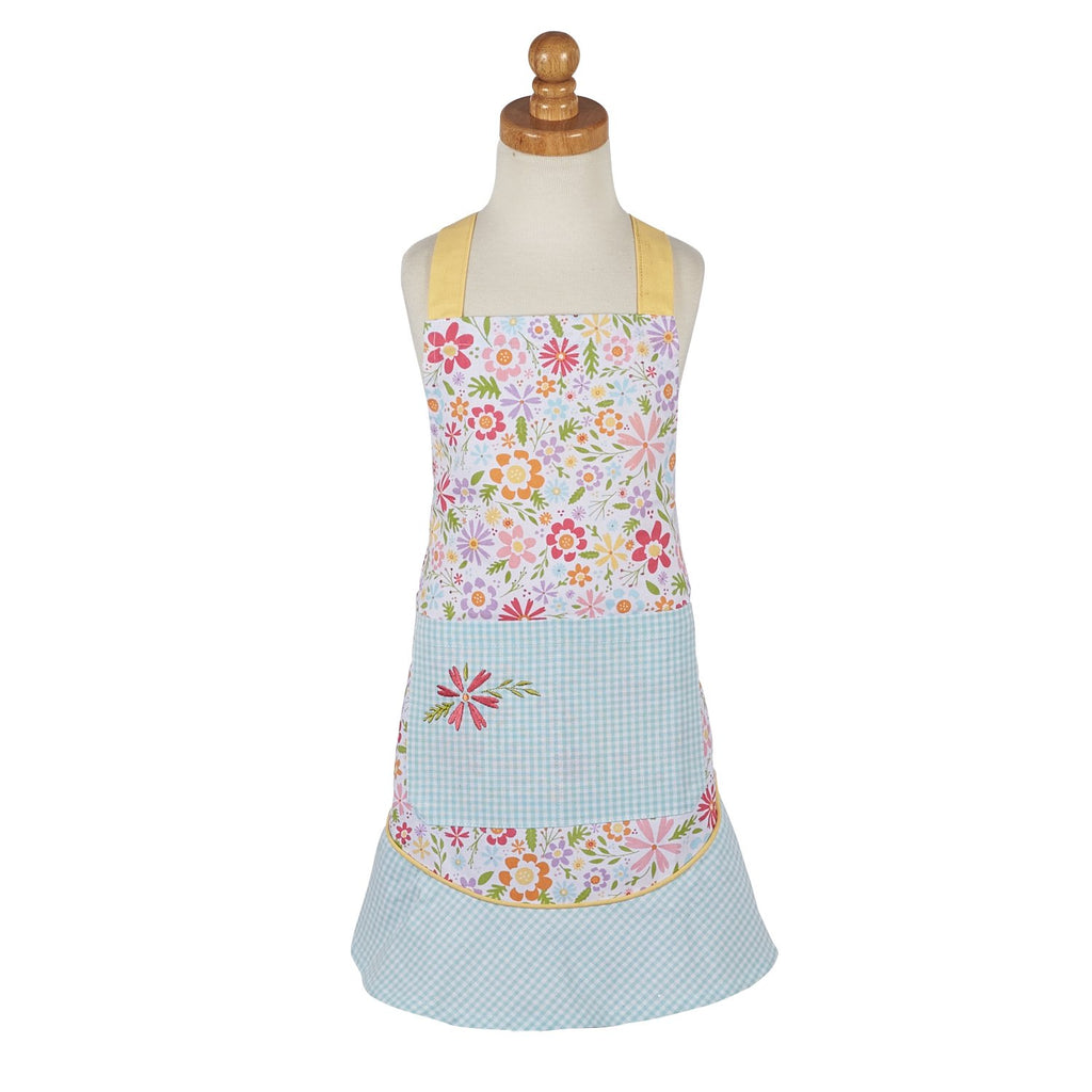 DII Kids Flower Party Apron