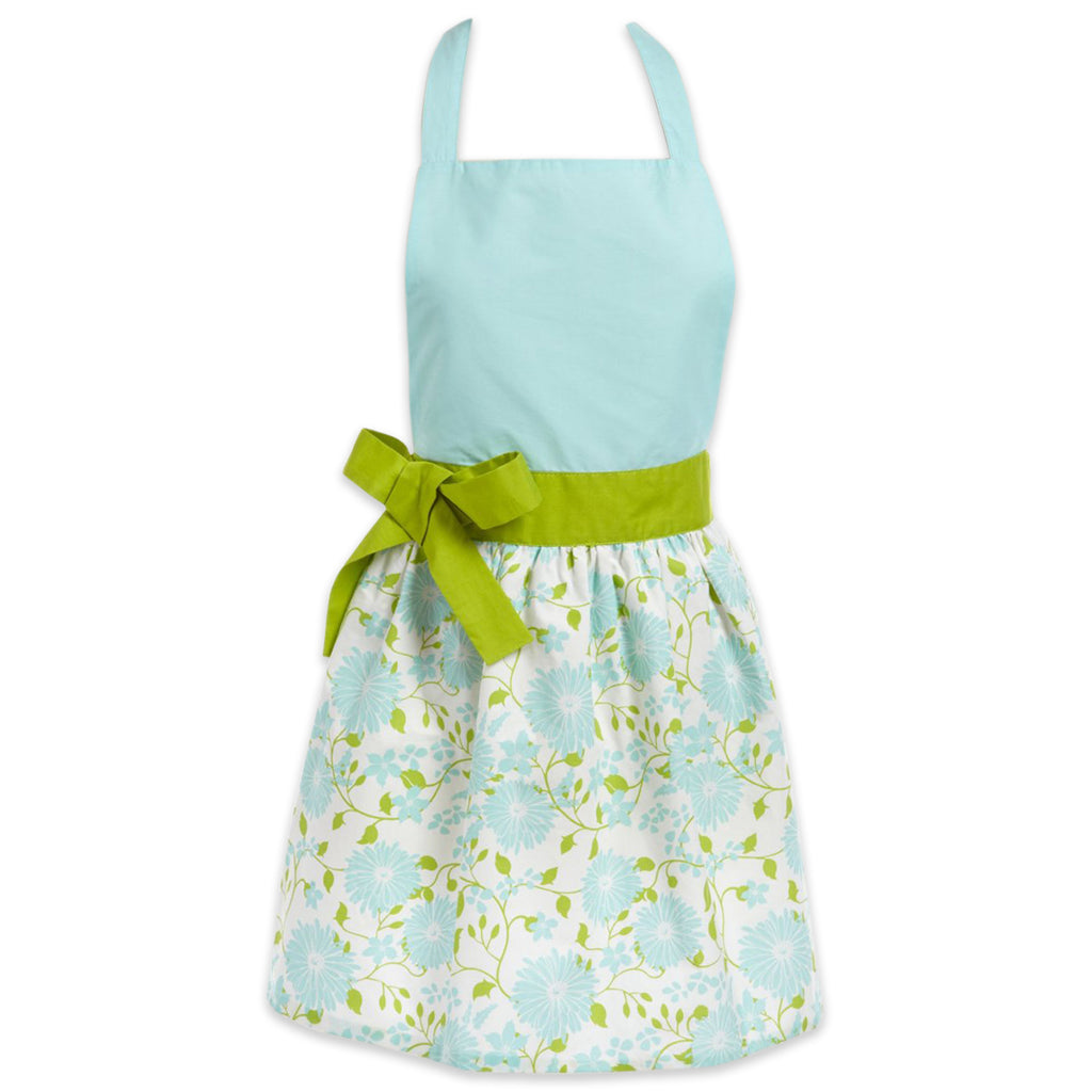 Angel Blue Daisy Garden Apron