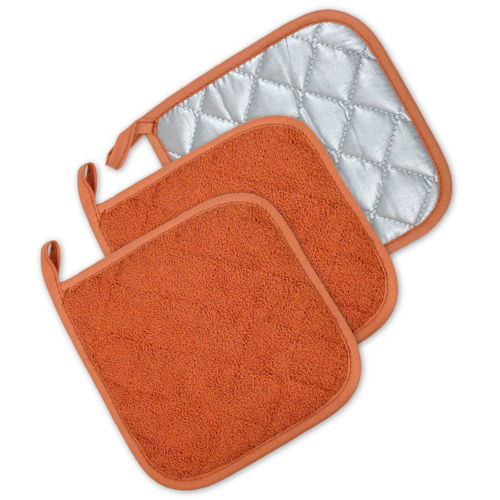 Spice Terry Potholder Set/3