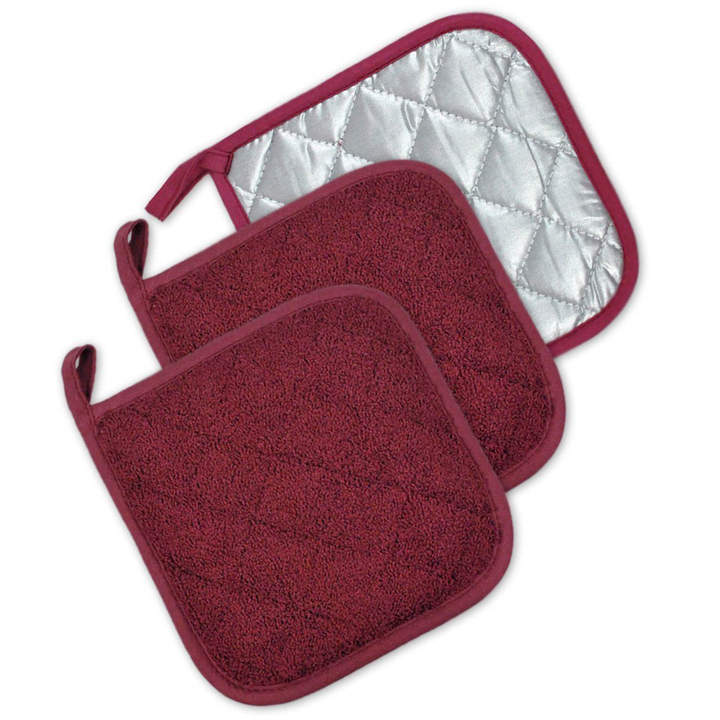 Wine Terry Potholder Set/3
