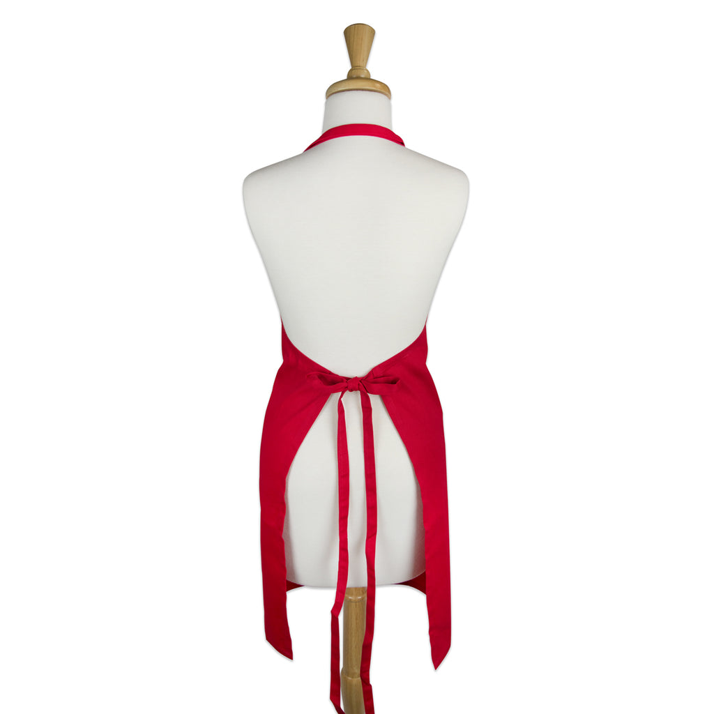 DII Tango Red Chino Chef Apron