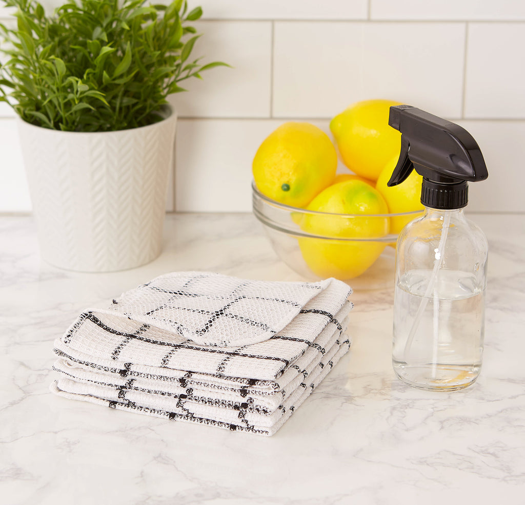 DII Black Scrubber Dishcloth (Set of 6)