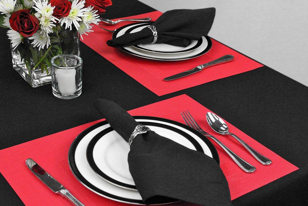 DII Tango Red Pvc Doubleframe Placemat (Set of 6)