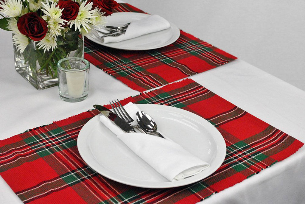 DII Holiday Plaid Placemat (Set of 6)