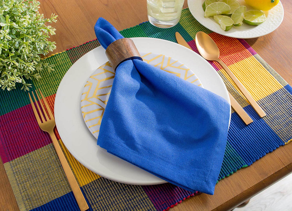 DII Indian Summer Ribbed Placemat (Set of 6)
