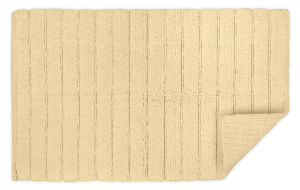 DII Cream Ribbed Rug