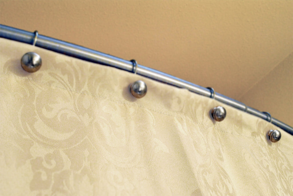 DII Cream Damask Shower Curtain