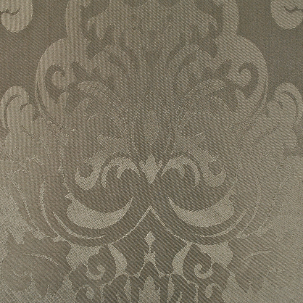 DII Stone Blue Damask Shower Curtain