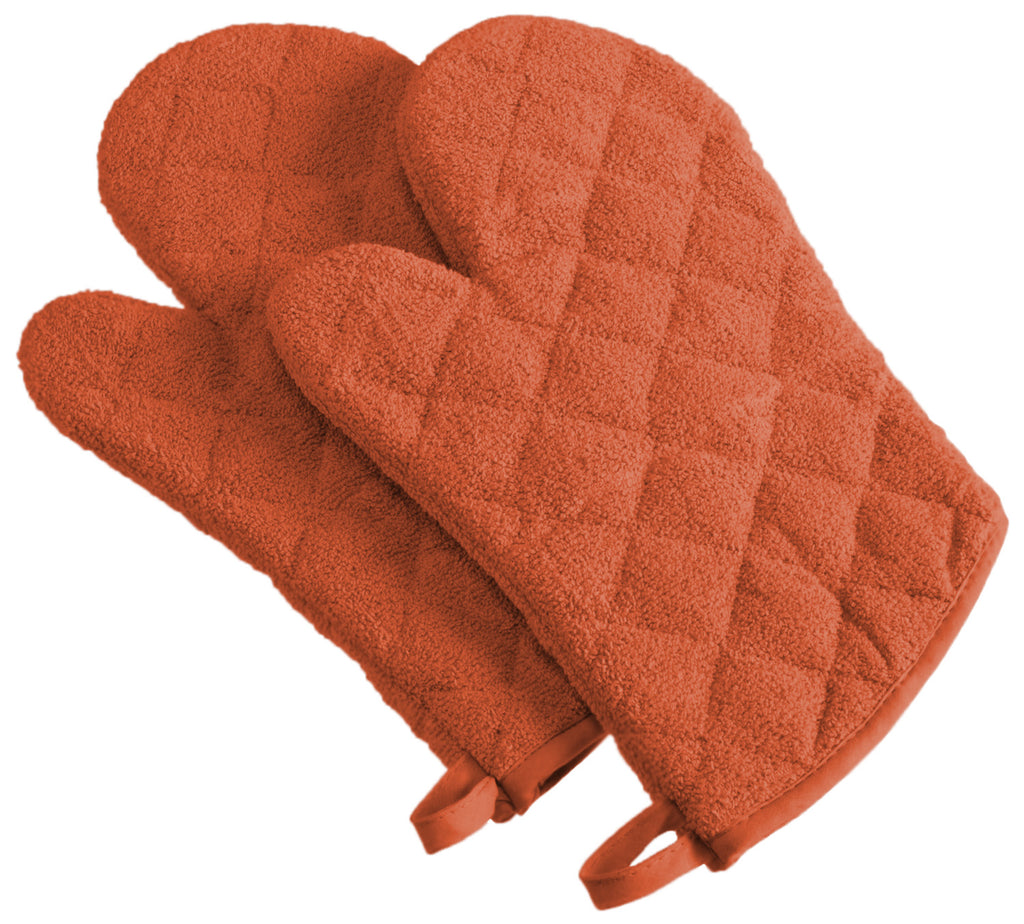 Spice Terry Oven Mitt Set/2