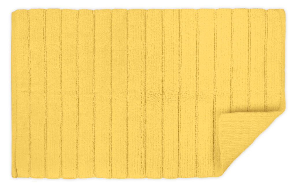 DII Yellow Ribbed Rug