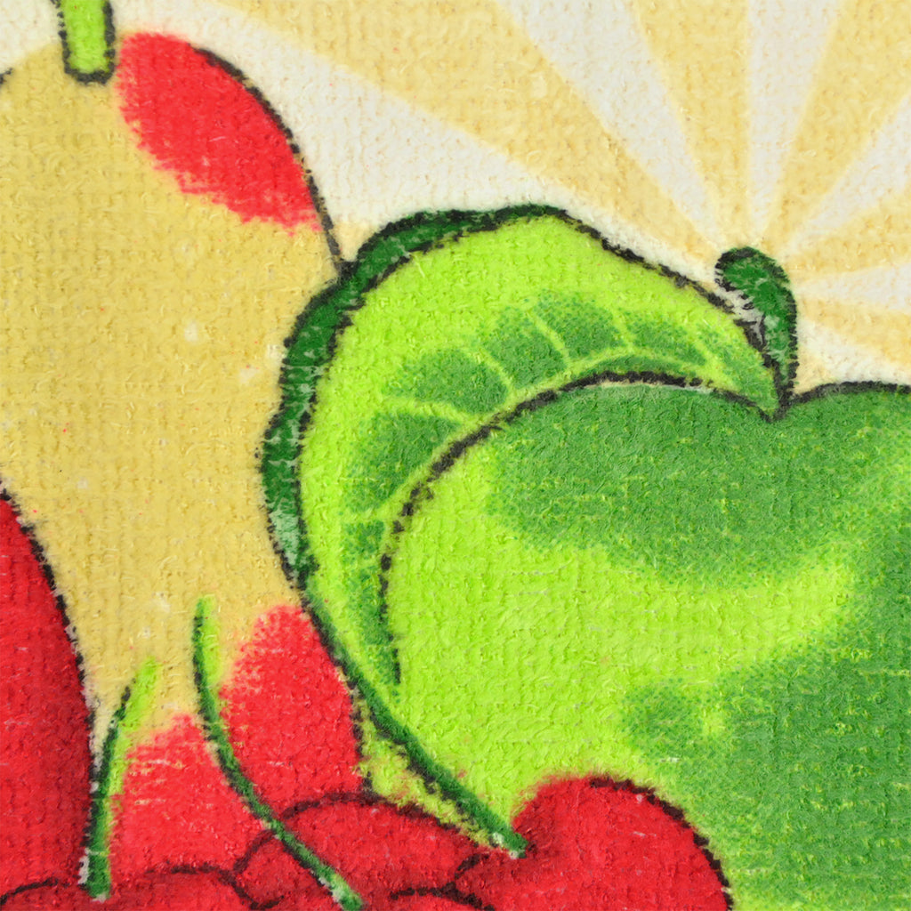 DII Essental Terry Fruit Dishtowel (Set of 4)