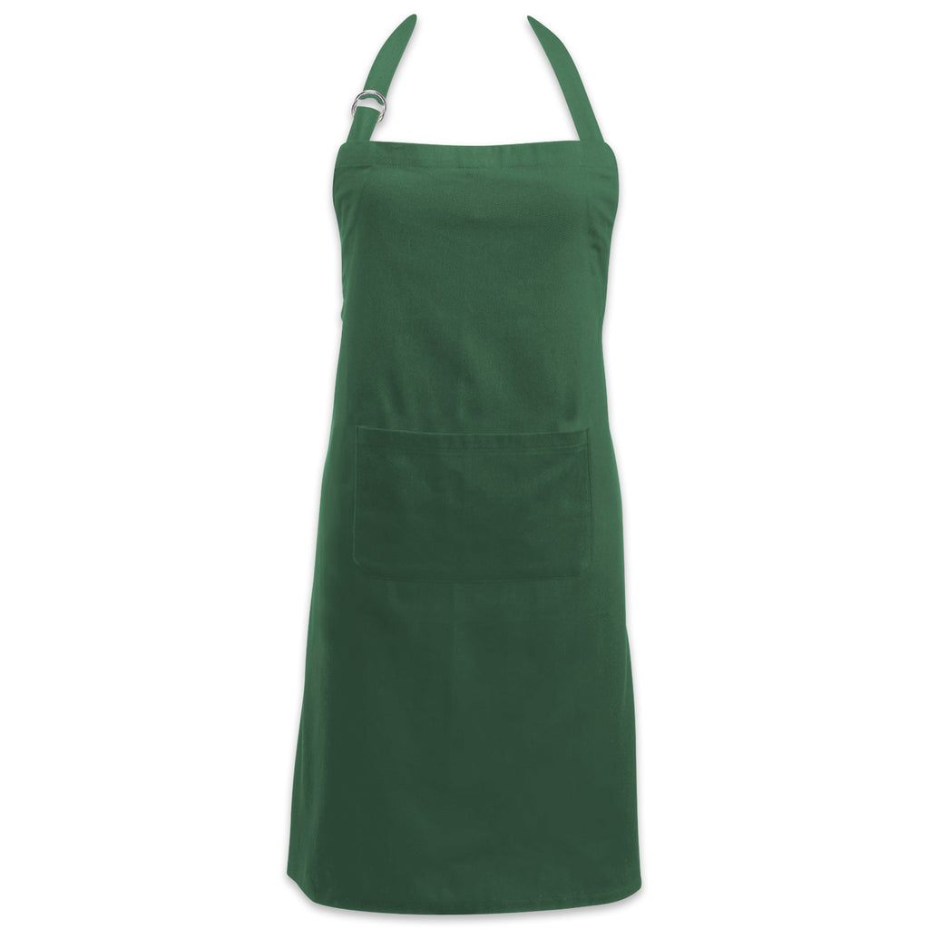 Dark Green Chino Chef Apron