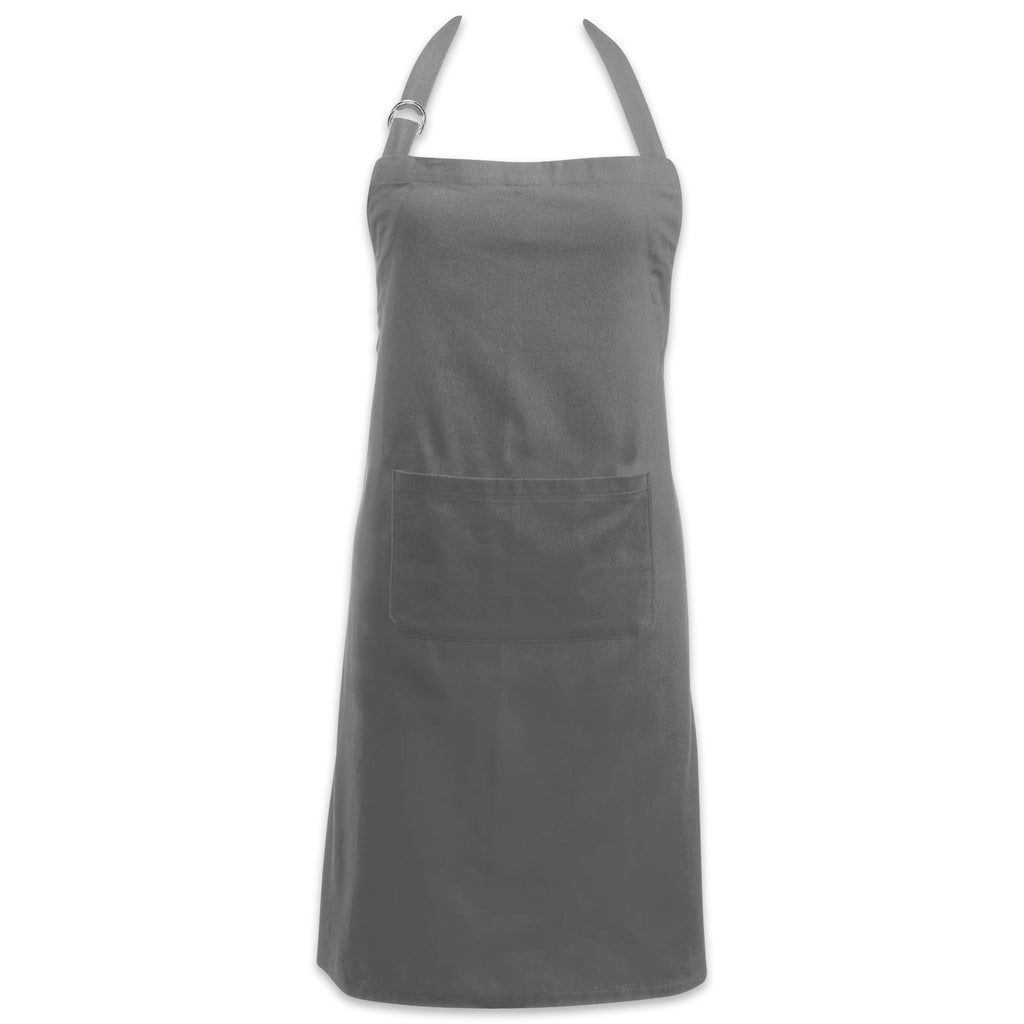 Gray Chino Chef Apron