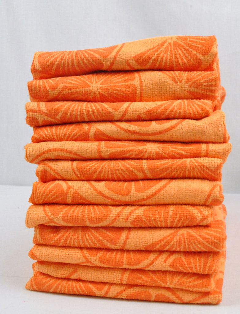 DII Lemon Citrus Microfiber Kitchen Towel (Set of 12)