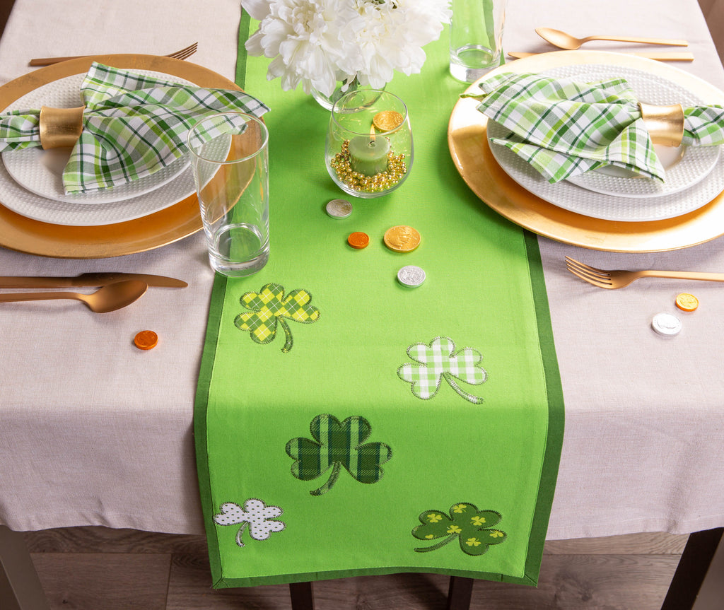 DII Lucky Day Table Runner, 14x54""