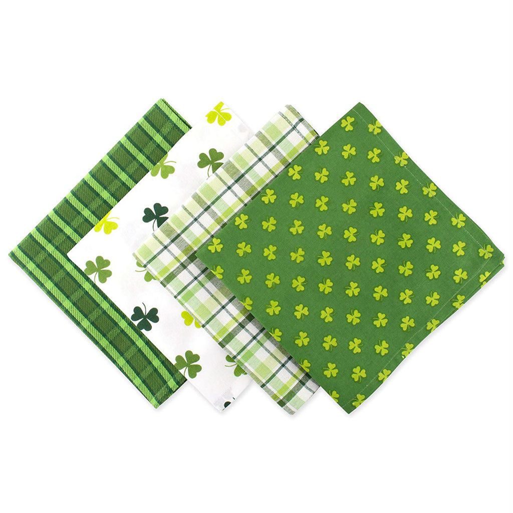 St Patricks Day Napkin Set/4