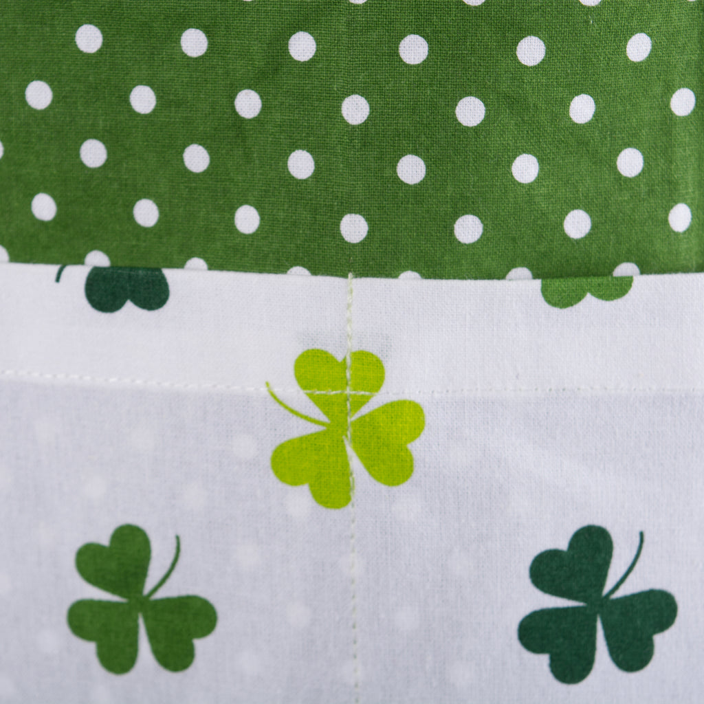 DII Kiss Me St Pattys Day Ruffle Apron