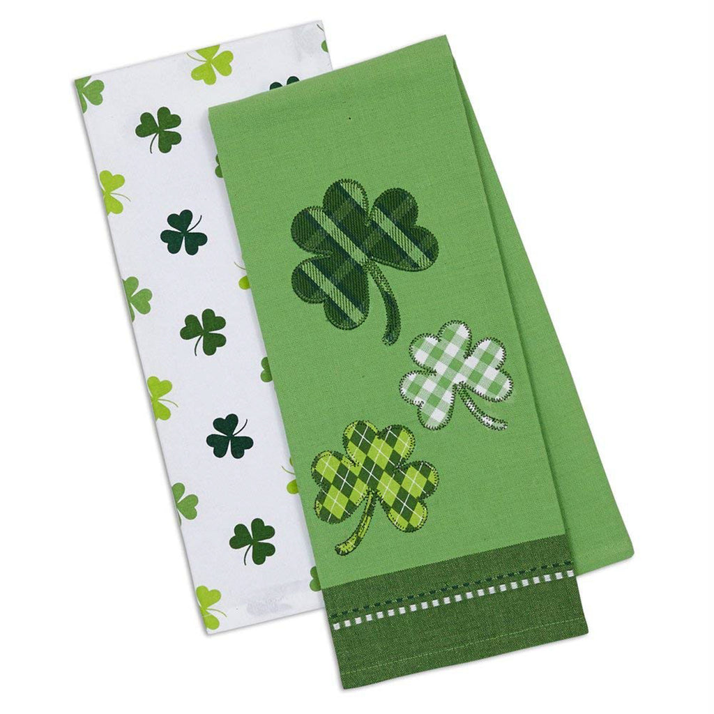 Asst Lucky Day Dishtowel Set/2