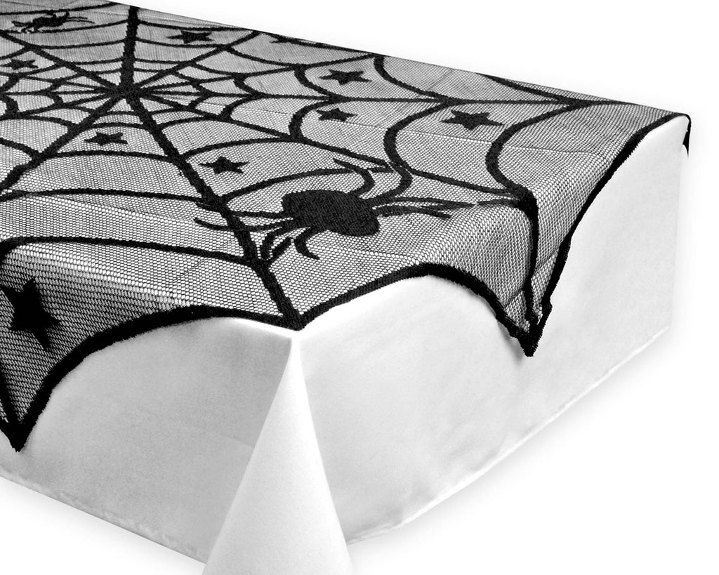 DII Halloween Lace Table Topper 40 Round