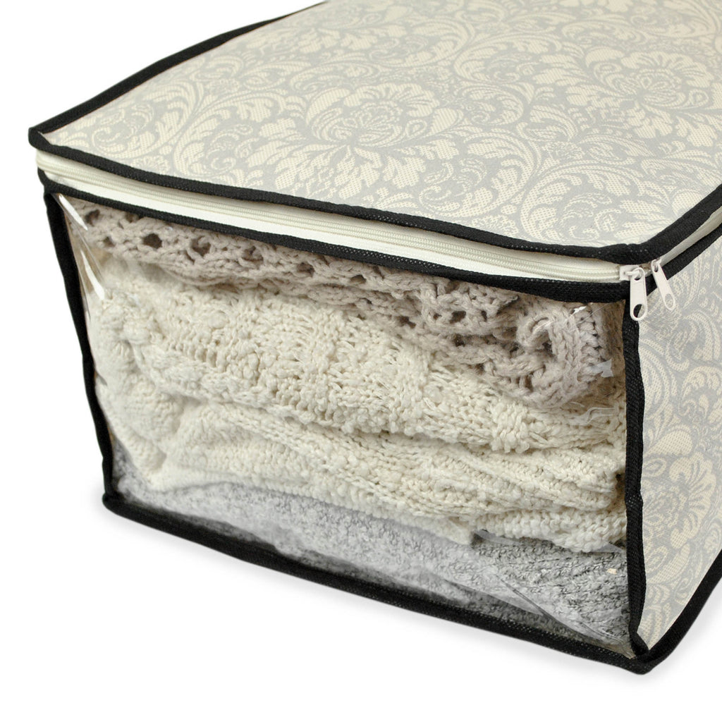 DII Soft Storage Damask (Set of 2)