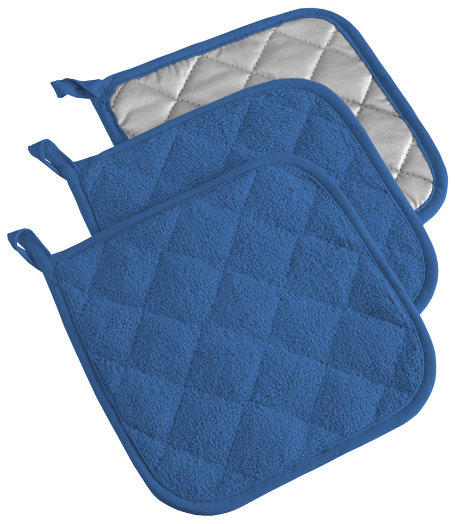 Blueberry Terry Potholder Set/3