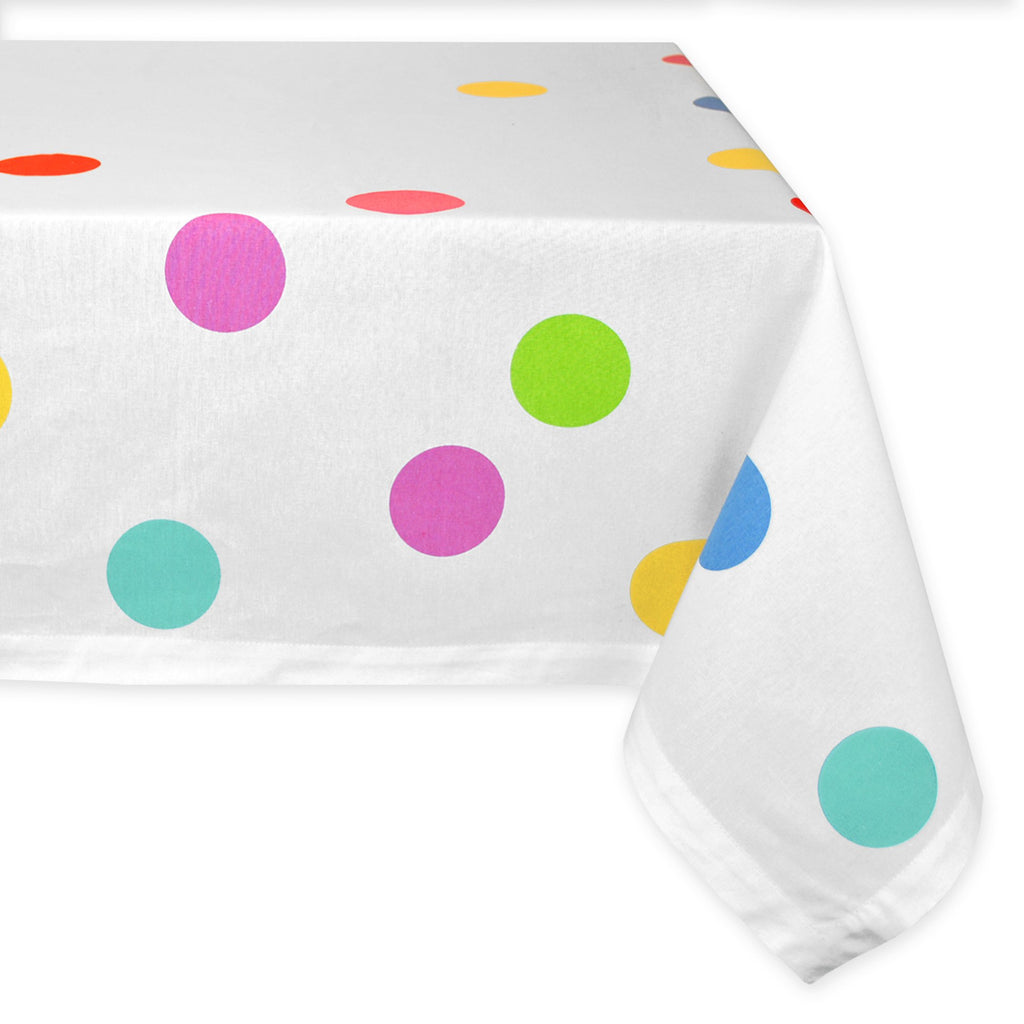 Confetti Print Tablecloth 52x52