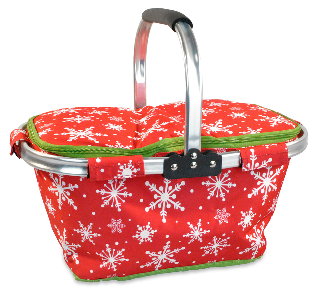 Insulated Tote Snowflakes
