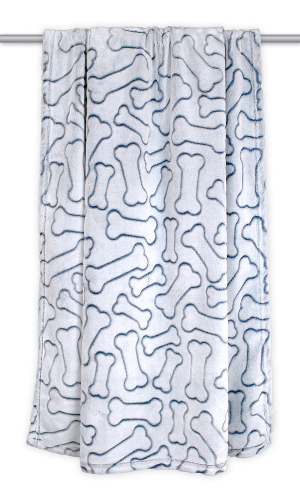 Bone Pet Blanket Navy