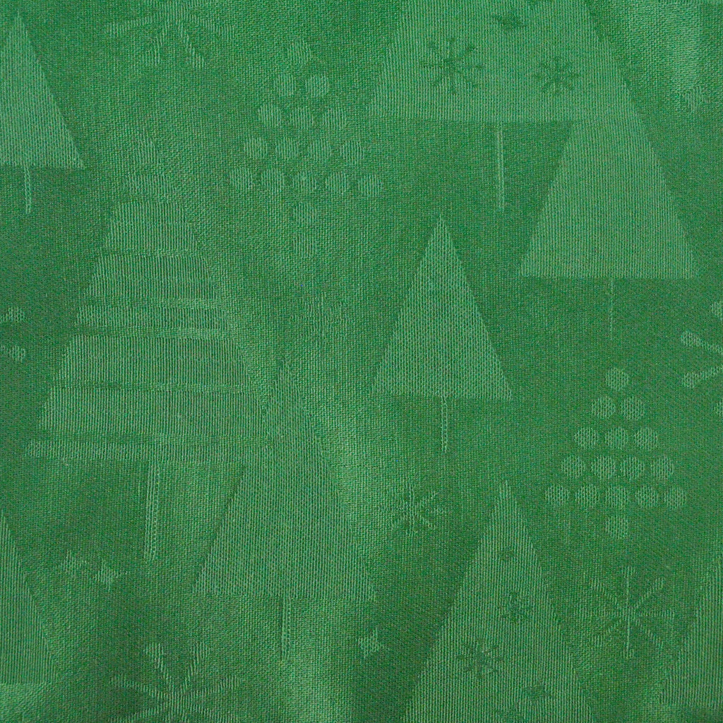 DII Green Holiday Trees Napkin (Set of 6)