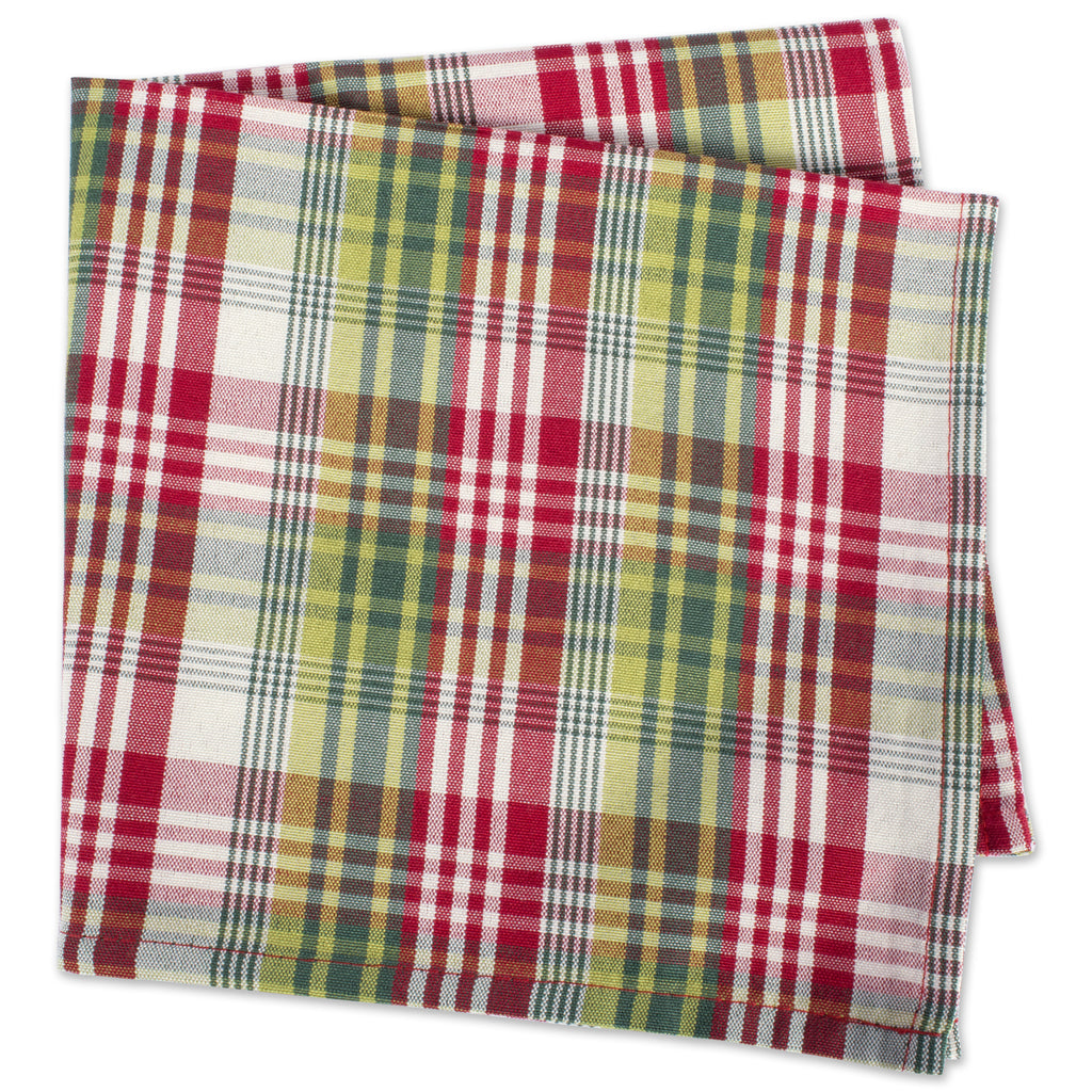 DII Holly Jolly Plaid Napkin (Set of 6)