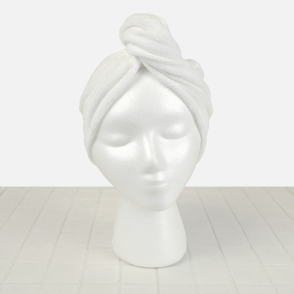 Hair Wrap White Set/3