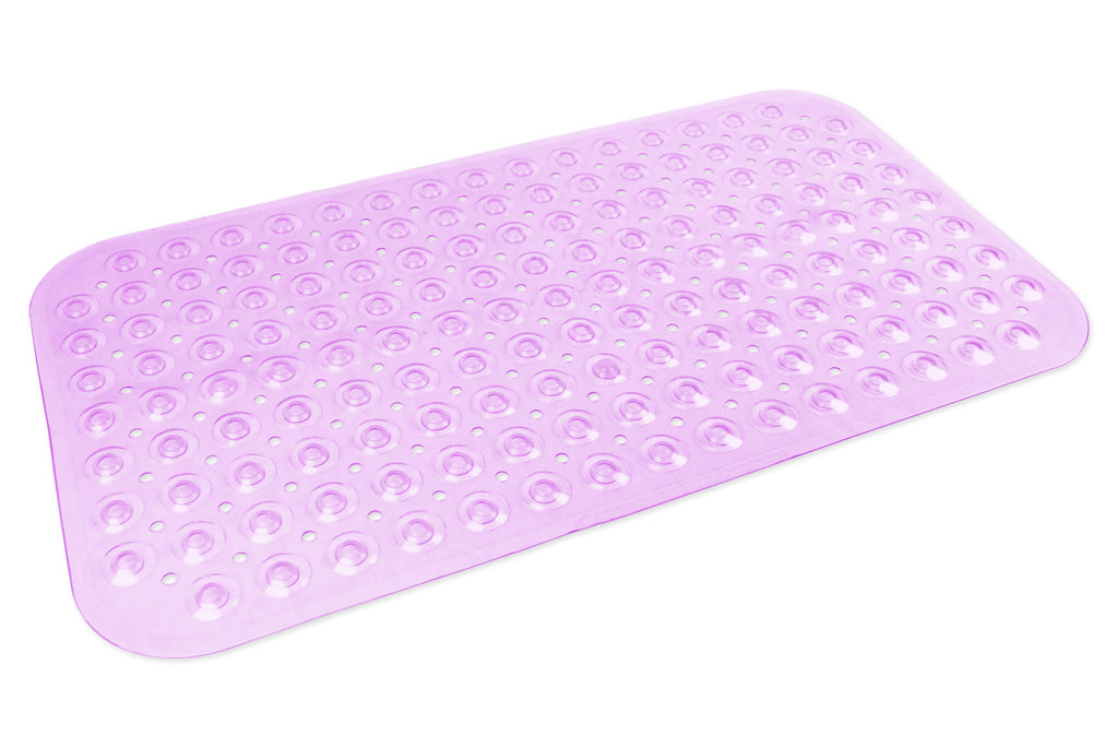 Vinyl Bath Mat Med Purple