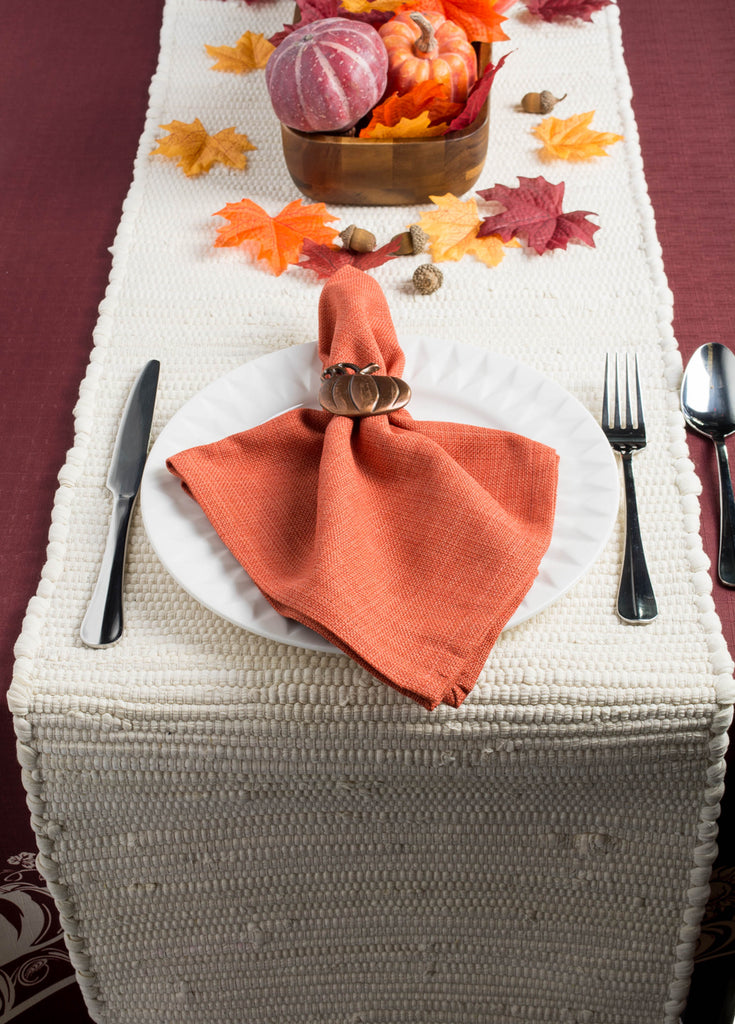 DII Multi Color Chindi Rag Table Runner, 14x72""