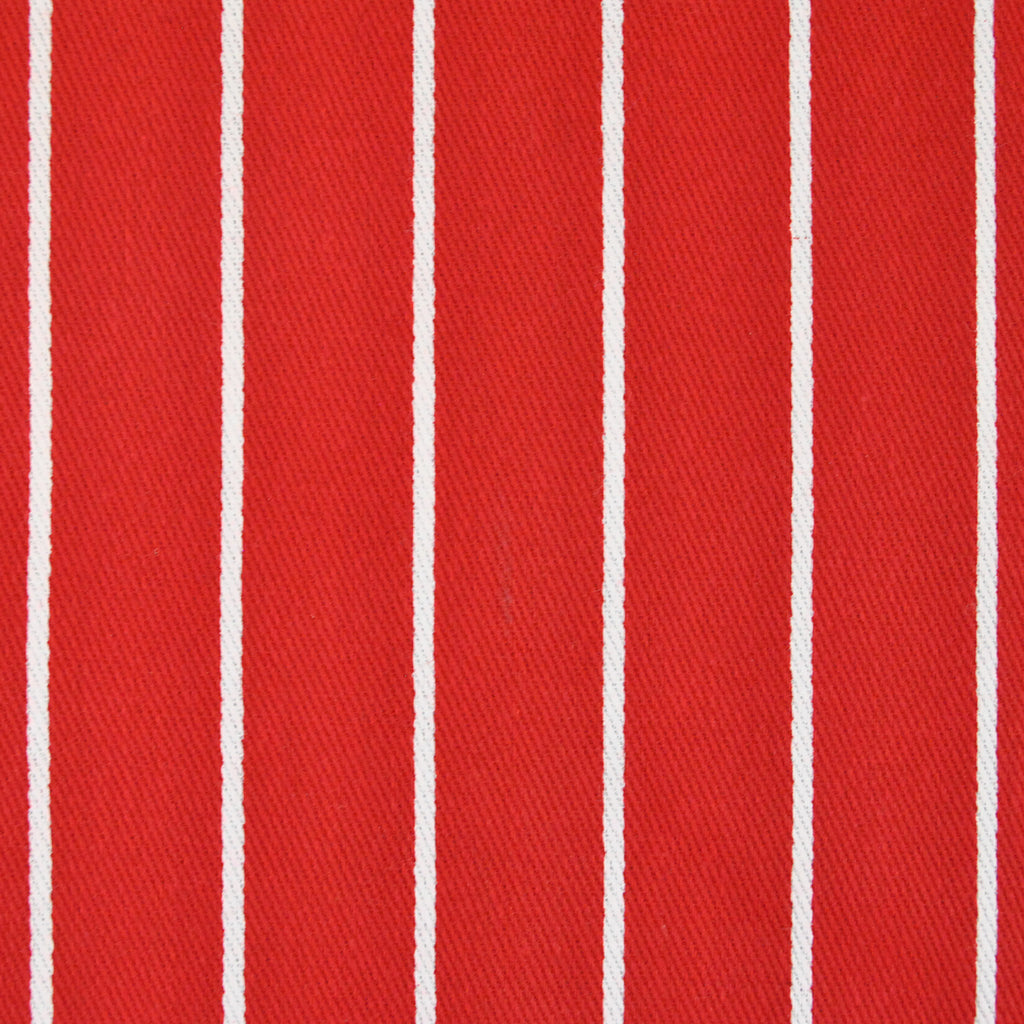 DII Tango Red Pinstripe Chef Apron