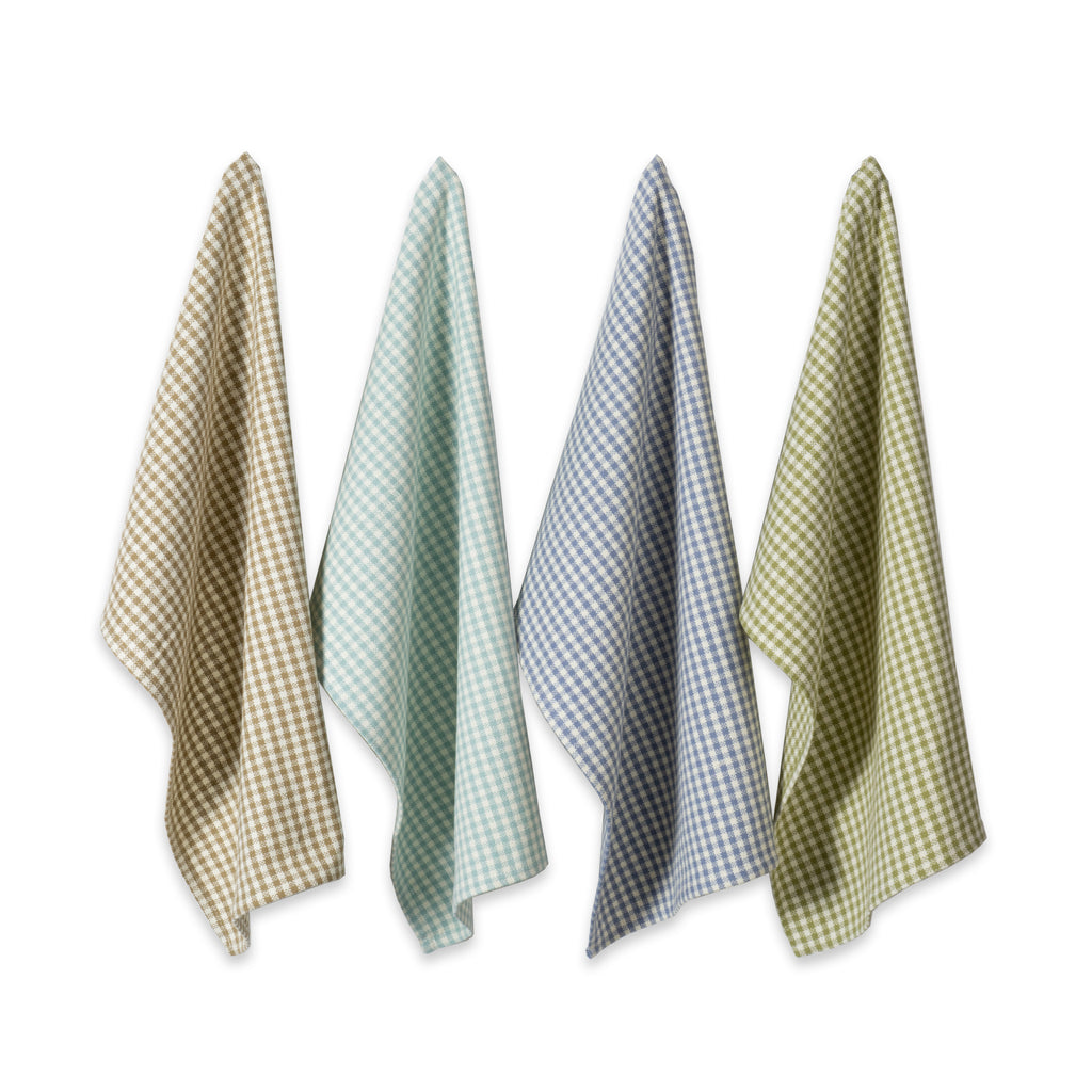 Asst Lakehouse  Heavyweight Dishtowel Set/4