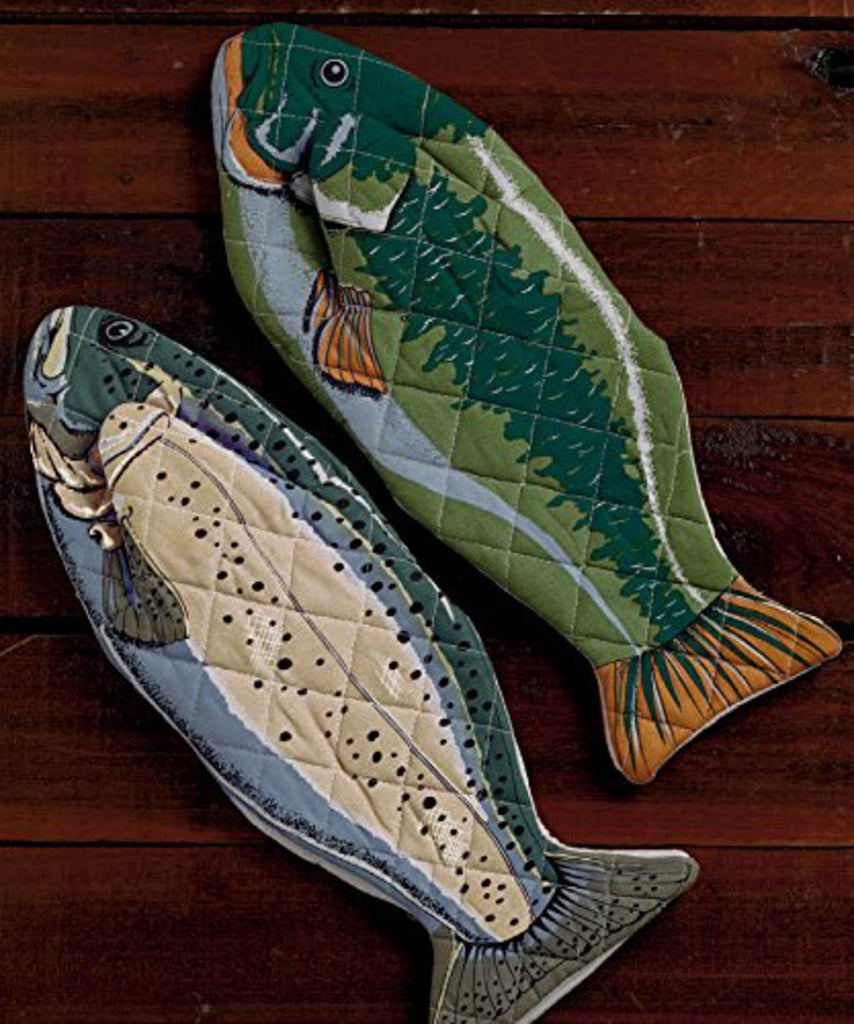 DII Fish Oven Mitt (Set of 2)